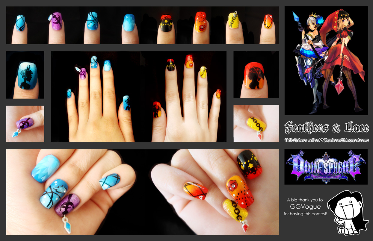 WINNER GGVogue Nail Art Contest is Jihye Lee! - GGVogue
