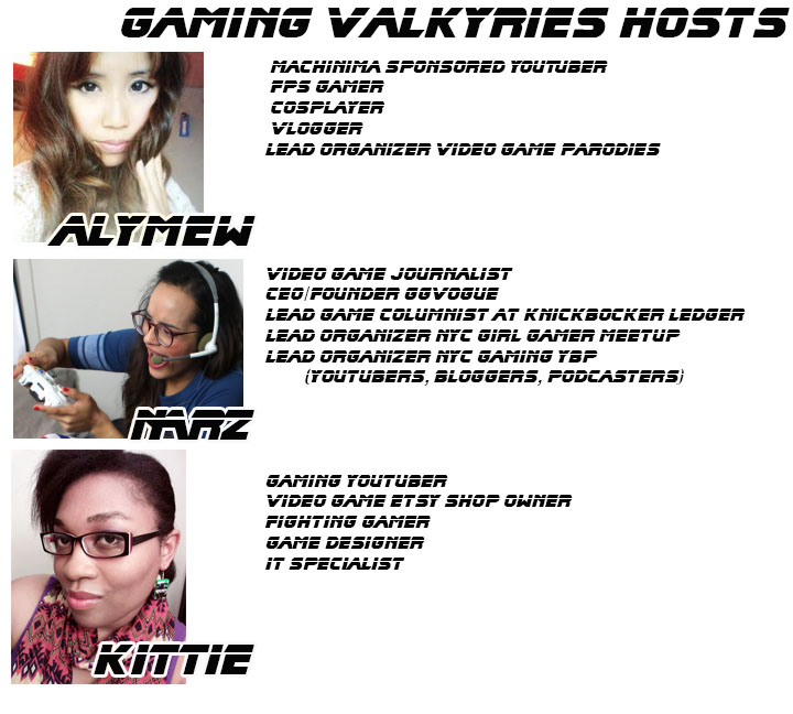 Hosts of Gaming Valkyries