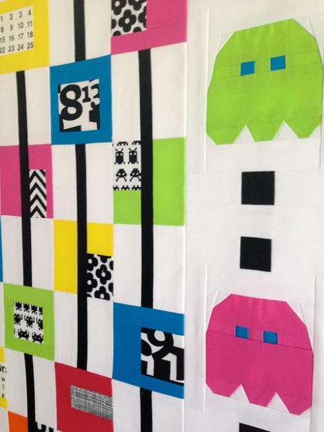 pacman quilt 3