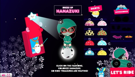 Dressing Hanazuki for a ride!