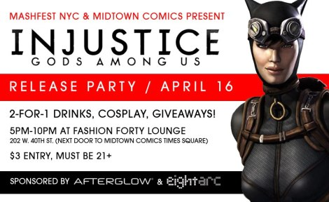 Injustice Midnight Release Party