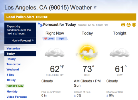 L.A weather 3